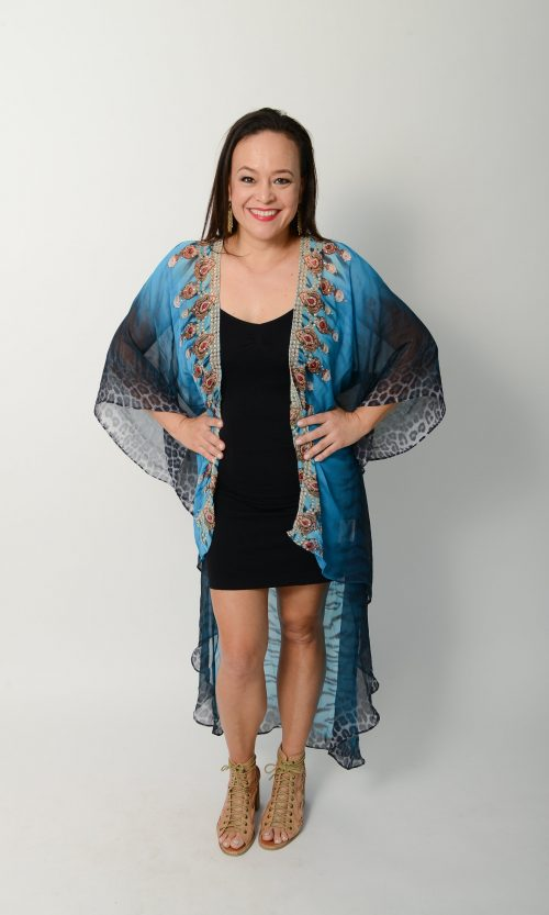 Exotic Blue Tiger Cape * Limited Stock *