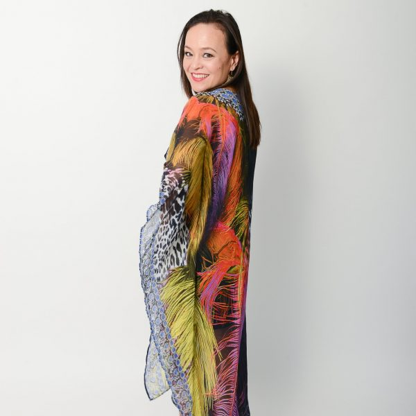 Exotic Feather Cape