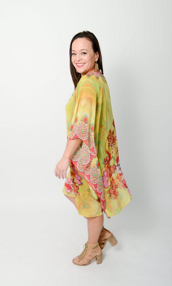 Oriental Floral Kaftan * Limited Stock *