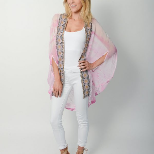 Pink Blossom Cape