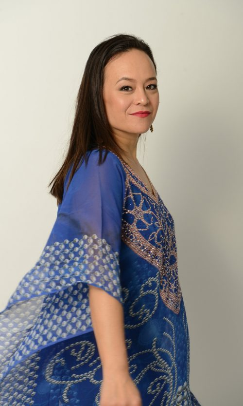 Tribal Blue Kaftan * Limited Stock *