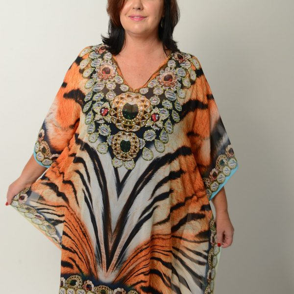 Tribal Tiger Kaftan * Limited Stock *